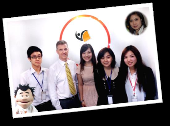 The Centre O Team & Hong Kong Visa Centre - July 2013