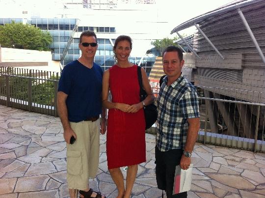 Simon Fuller & Gail Turner @ Video Cha Cha - September 17, 2013